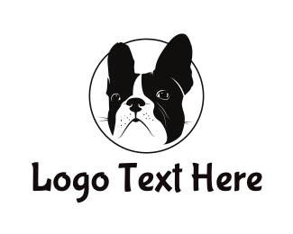 Breed - French Bulldog logo design