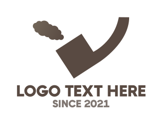 Cigarette - Quote Pipe logo design