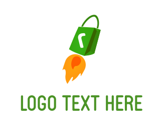 Rocket - Rocket Bag logo design