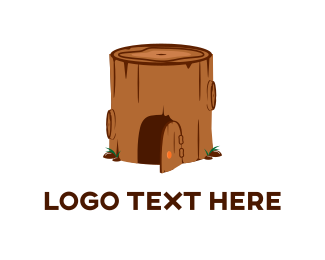 Log - Log House logo design