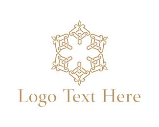 Hotel - Floral Candles logo design