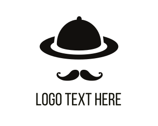 Plate - Gentleman Tray logo design