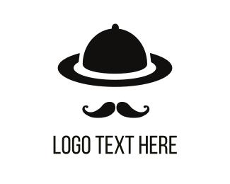 Dinner - Gentleman Tray logo design