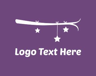 Babe - Branch & Stars logo design