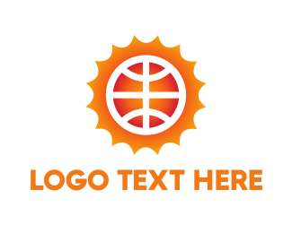 Recreation - Sun Ball logo design