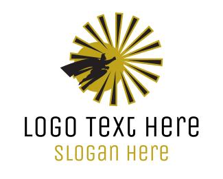 Comic - Sun Hero logo design