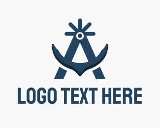 Anchor - Arctic Anchor logo design