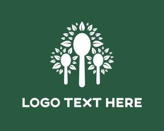 Foliage - Tree Spoons logo design