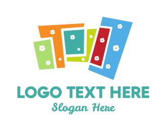 Geometrical - Floral Buildings logo design