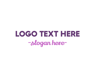 Signature - Modern & Cursive logo design