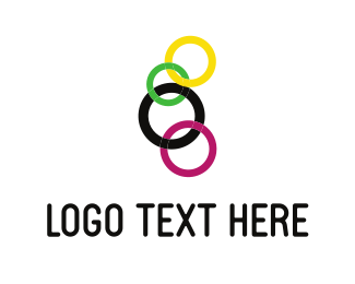Connection - Colorful Chain logo design