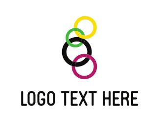Chain - Colorful Chain logo design