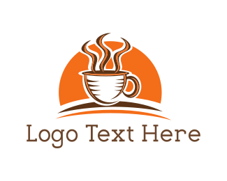 Cup - Sunrise Coffee logo design