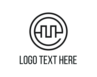 Equities - Circle Letter E logo design