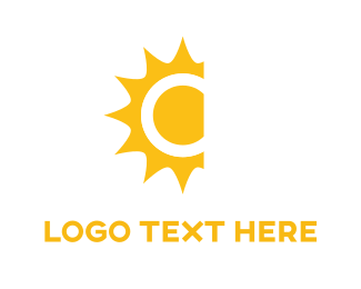 Sunshine - Yellow Sun  logo design