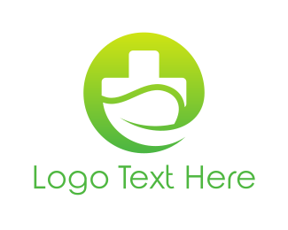 Gardener - Green Eco Hospital logo design