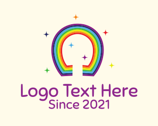 Lucky - Lucky Rainbow logo design