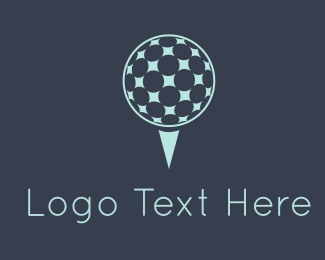 Golfer - Golf Ball logo design