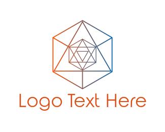 Hexagonal - Hexagonal Crystal logo design