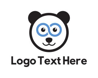 Infinite - Super Panda logo design