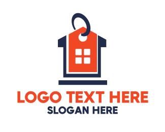 Tag - House Price logo design