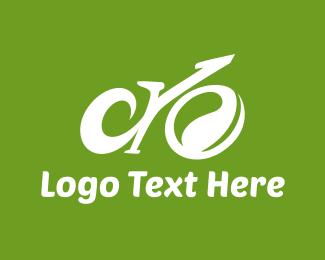 Ride - Abstract Eco Bike logo design