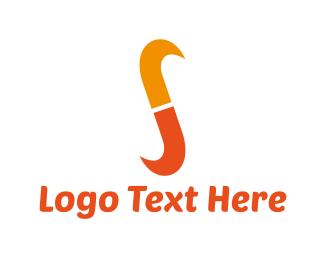 """Orange Letter S"" by dzima1"