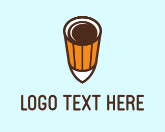 Shot - Coffee Shot logo design