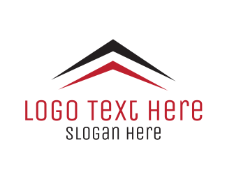 Roof - Arrow Roof logo design