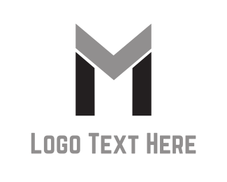 Legal - Abstract Letter M logo design