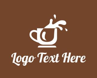 Splash - Coffee Splash logo design