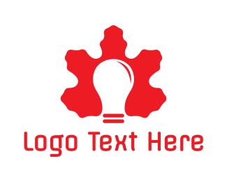 Bulb - Canadian Light Bulb logo design