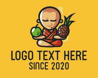 Fruit - Fruit Monk logo design