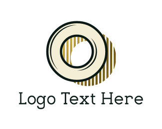 Text - Vintage Letter O logo design