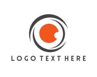Red Lens Logo
