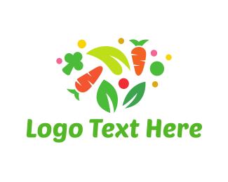 Lettuce - Colorful Vegetables logo design