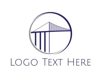 Bridge - Ambassador Bridge logo design