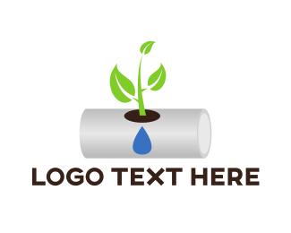Plant - Hydroponic Plant logo design