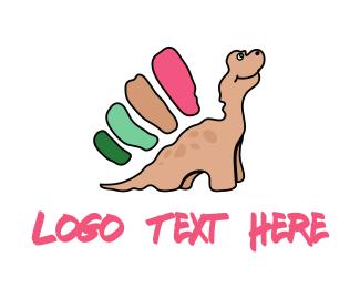 Prehistoric - Dinosaur Cartoon logo design