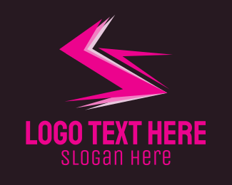 Electricity - Electric Pink logo design