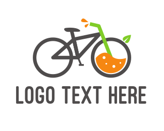 Juice Bar - Bicycle Juice logo design