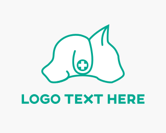 Kitten - Dog & Cat logo design