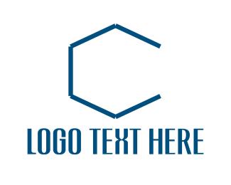 Hexagonal Letter C Logo