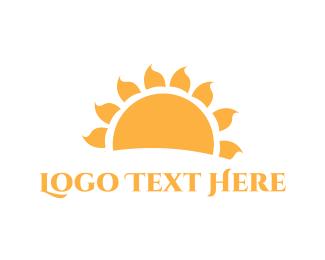 Morning - Yellow Sun logo design