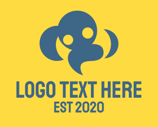 People - Cloud People logo design