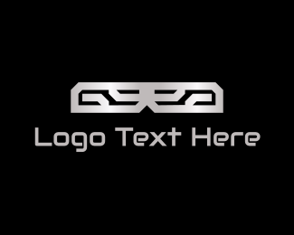 Mechanic - Abstract Metal  logo design