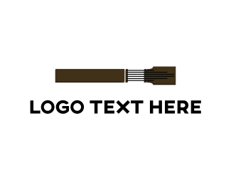 Composer - Guitar Neck logo design