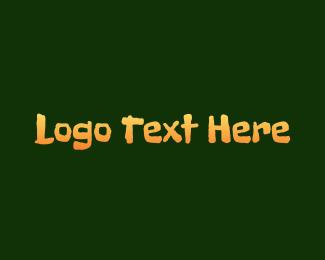 Ranch - Dirty Orange Sketch logo design