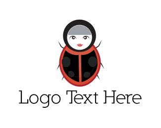 Doll - Lady Bug logo design