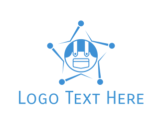 Sheriff - Denim Star logo design